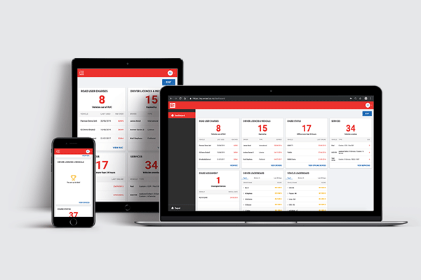 EROAD automates your fleet management, health and safety