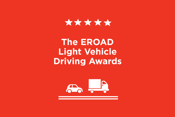 EROAD's Light Vehicle Driving Awards