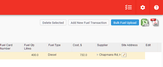 APAC Fuel Transation Management 1.0